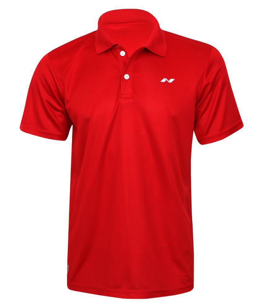 Nivia Polo Tee Red-2350-xxl2