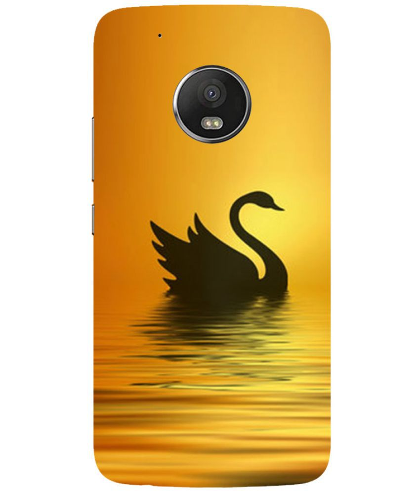 Moto G5 Plus Printed Cover By Blue Throat