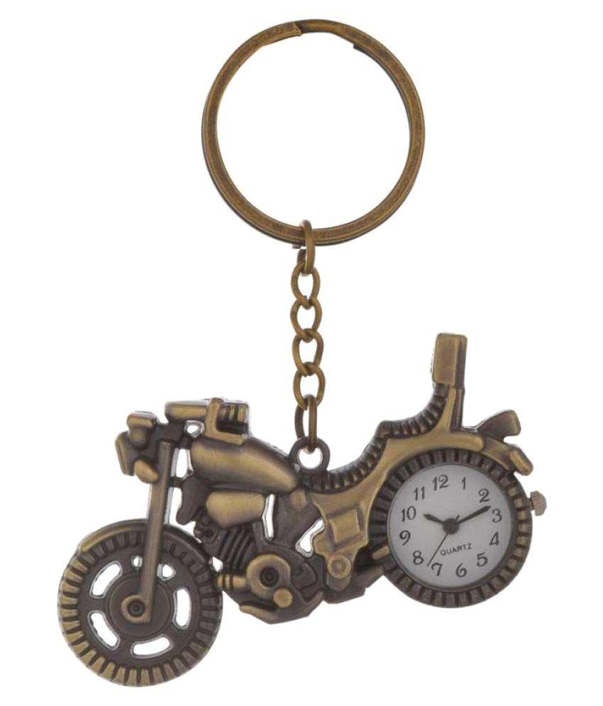 Shubheksha Motorbike-Clock Key Chain