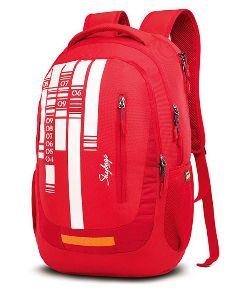 0016d273d4 Skybags Branded Backpack Laptop Bags School Bags red lazer 01 - Buy ...