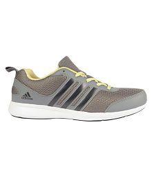 Adidas Gray Running Shoes