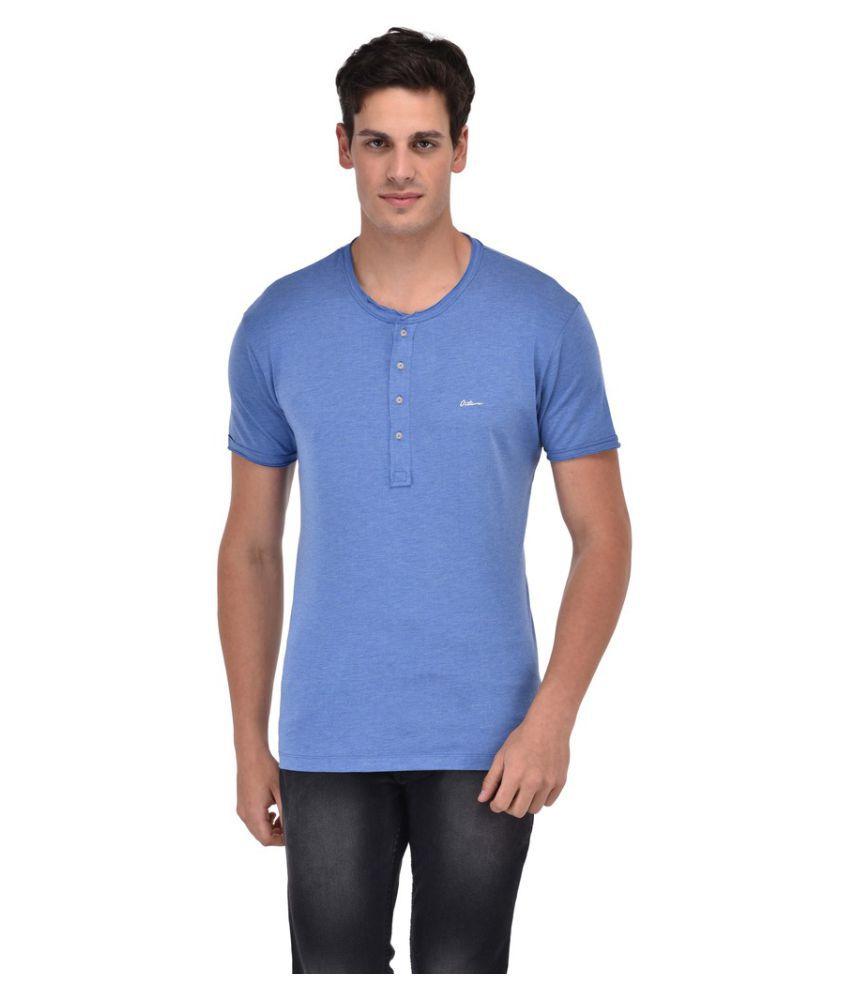 Octave Blue Henley T-Shirt