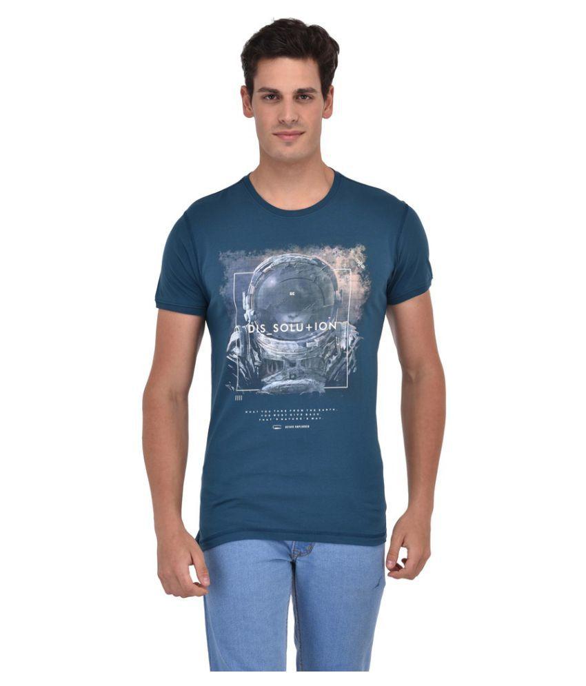 Octave Green Round T-Shirt