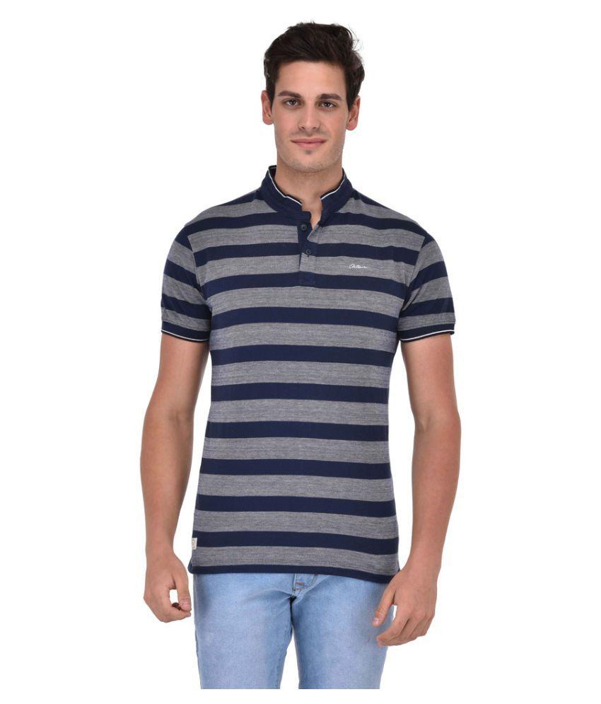 Octave Multi High Neck T-Shirt