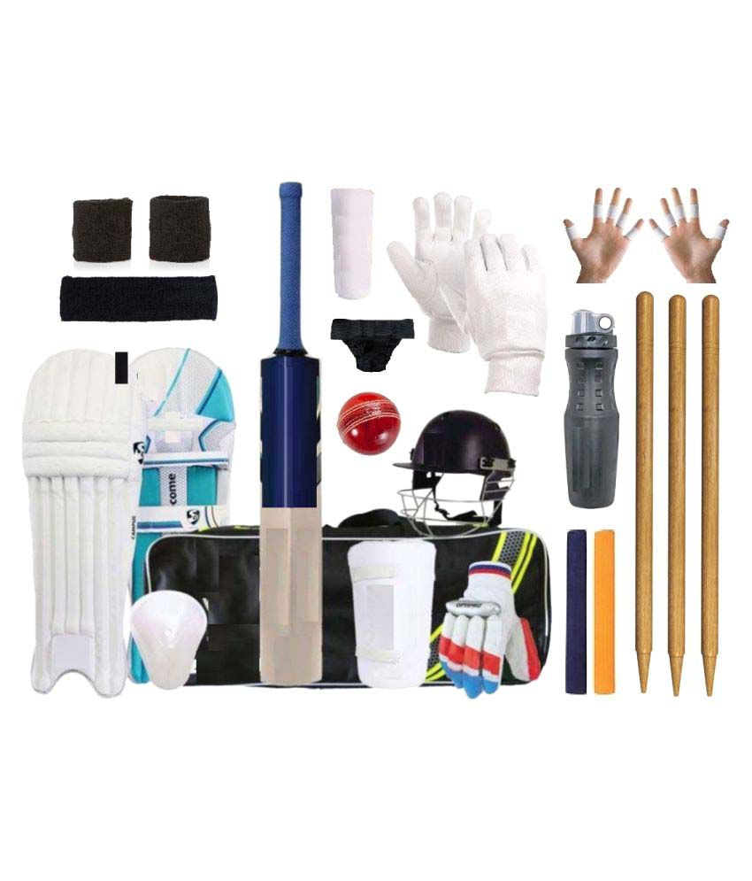 how to draw a cricket kit
