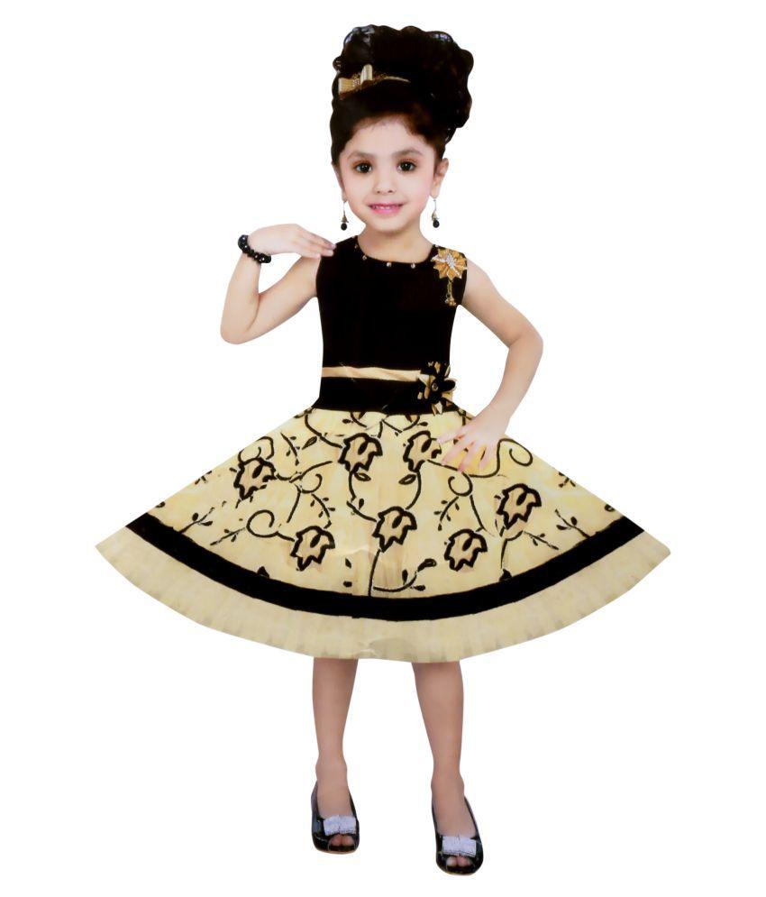 Cute Fashion Kids Girls Dress For Princess Velvet And Soft