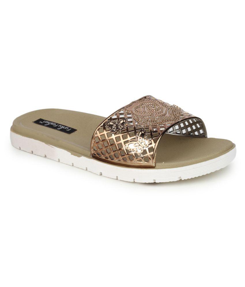 Funku Fashion Brown Flats