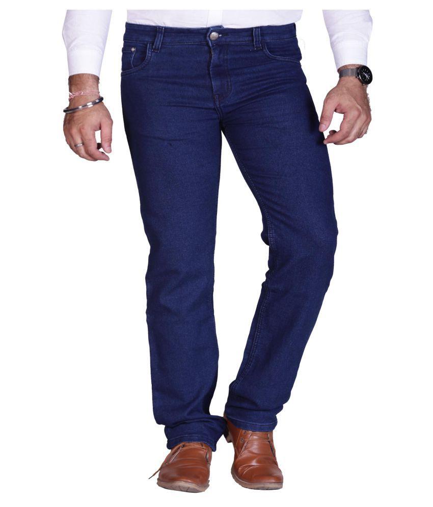 Prankster Dark Blue Straight Jeans