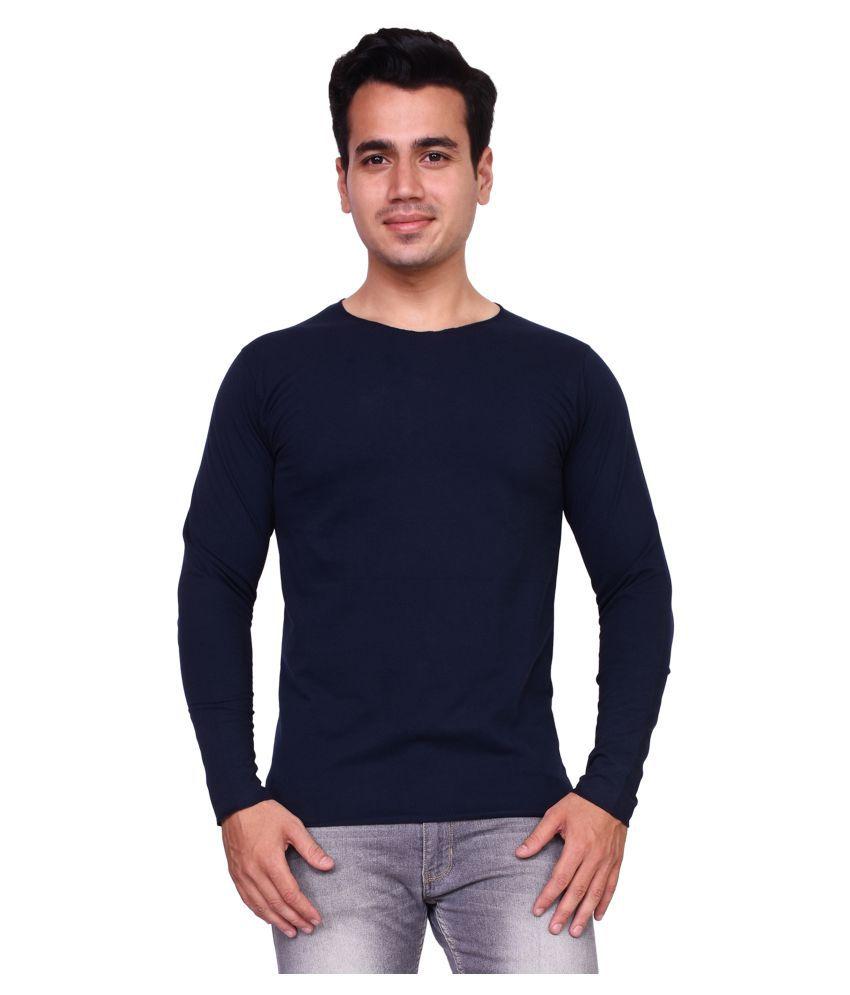 Voeux Navy Round T-Shirt