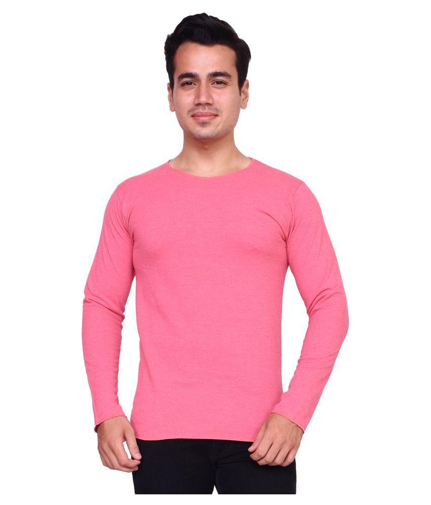 Voeux Pink Round T-Shirt