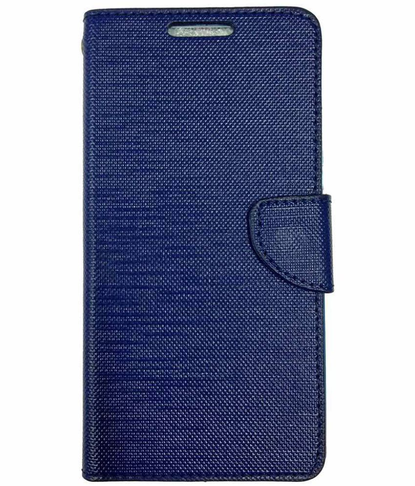 newest 37f1d 925cd Eluga Ray Max Flip Cover by CELZO - Blue - Flip Covers Online at Low ...