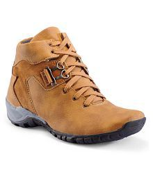 Big Fox Outdoor Brown Casual Shoes