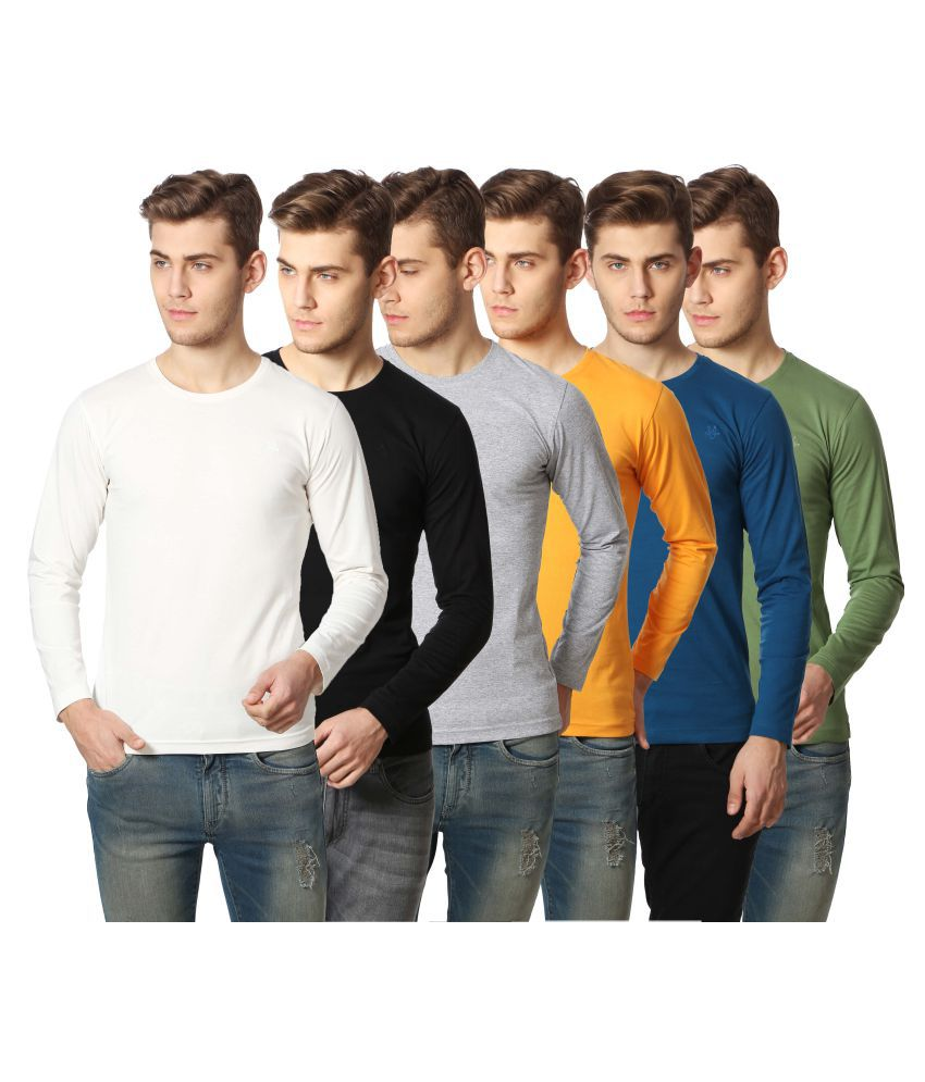 Goat Multi Round T-Shirt Pack of 6
