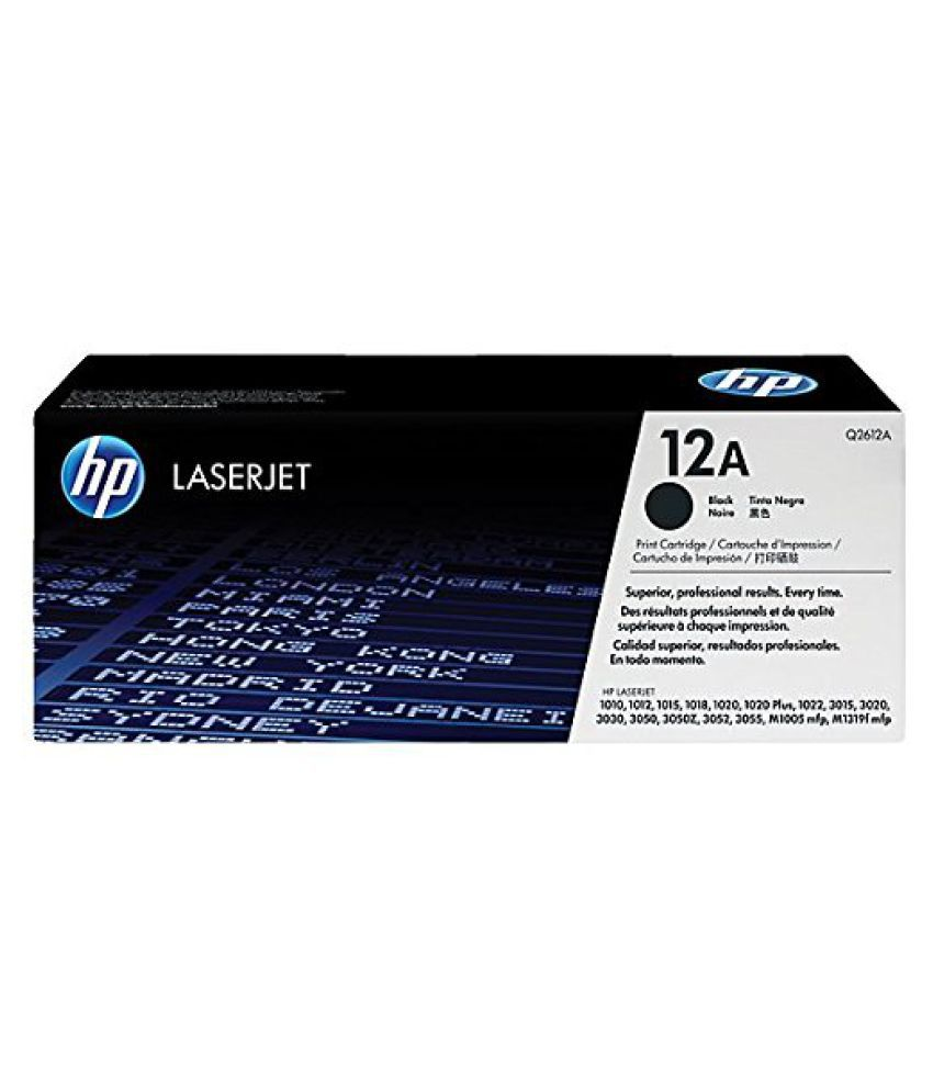 Laserjet Hp Black Toner Cartridge Single