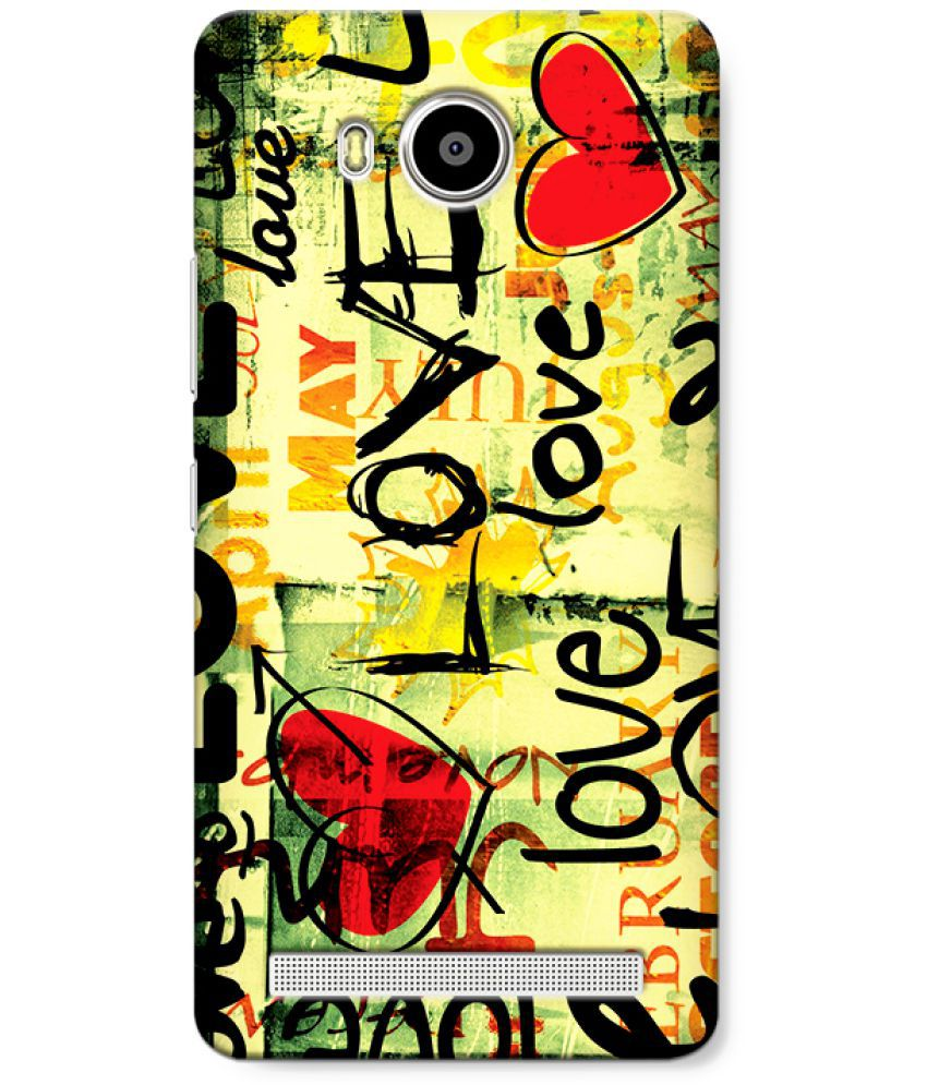 Lenovo A7700 Printed Cover By CRAZYINK
