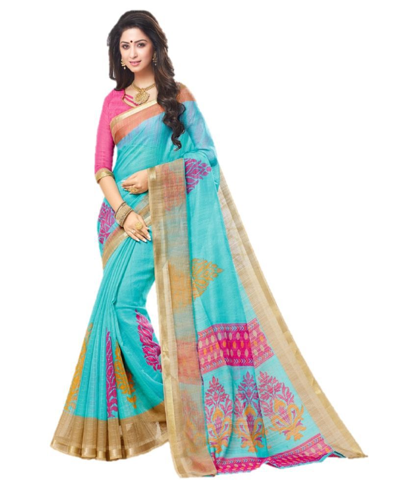 Trundz Multicoloured Cotton Silk Saree