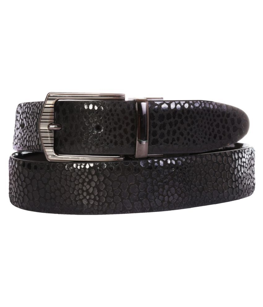 Schmick Black Leather Formal Belts