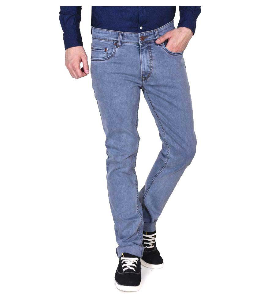 Ruace Grey Straight Jeans