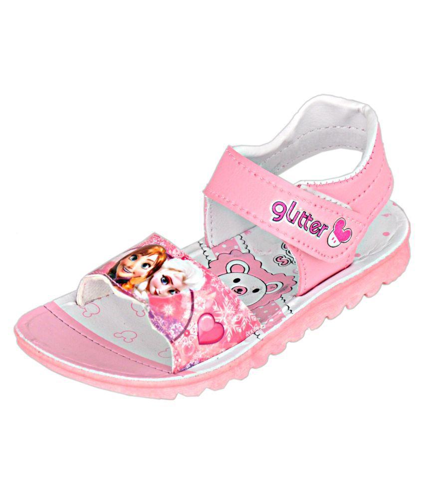 c05e7e759e34 Pollo Sandal for Girls Price in India- Buy Pollo Sandal for Girls ...