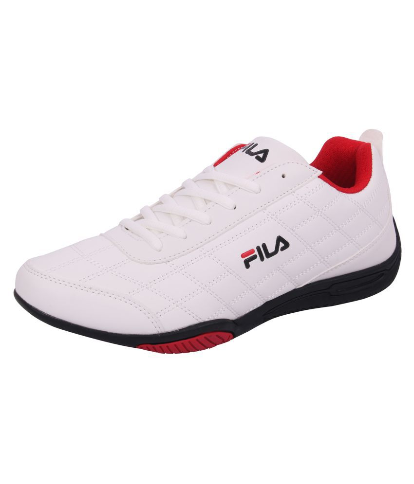 cafc8f15cab8 Fila Sneakers White Casual Shoes - Buy Fila Sneakers White Casual Shoes  Online at Best Prices in India on Snapdeal