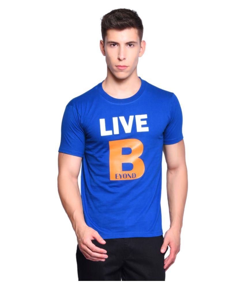 Libey Blue Round T-Shirt