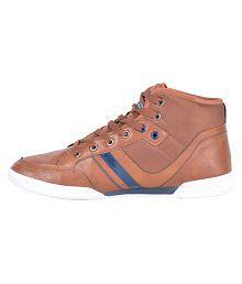 Lee Cooper Sneakers Brown Casual Shoes