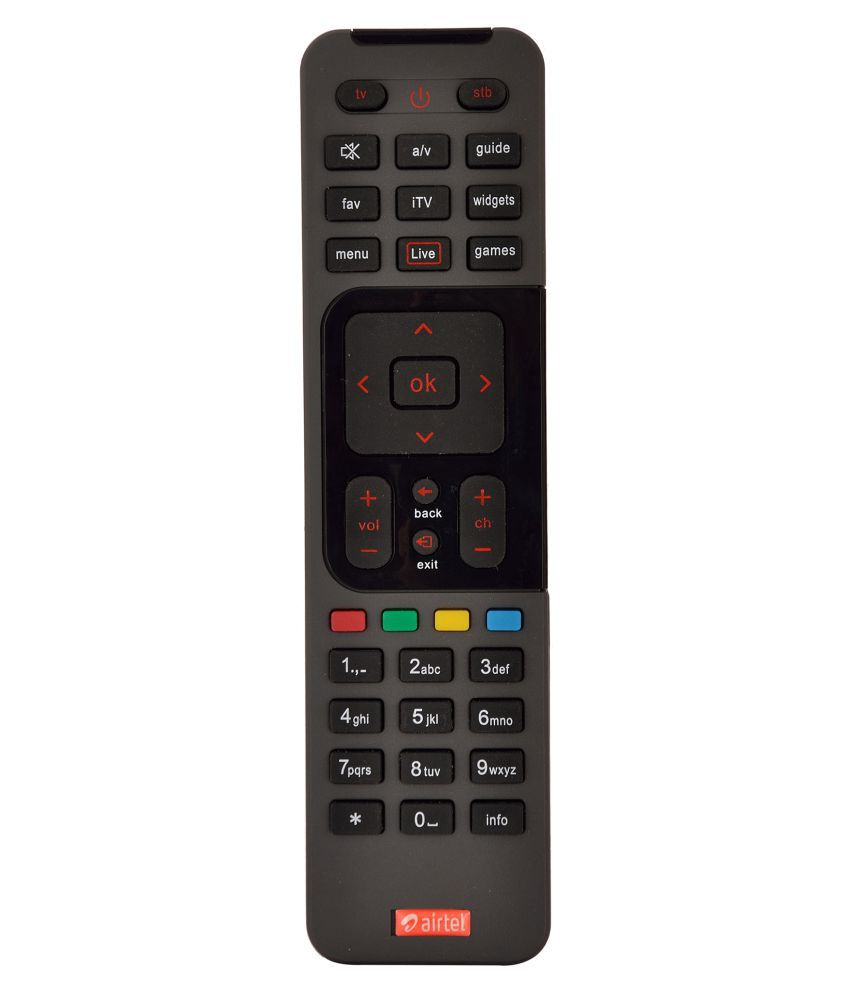 Airtel Digital TV DTH Remote Compatible with SD STB