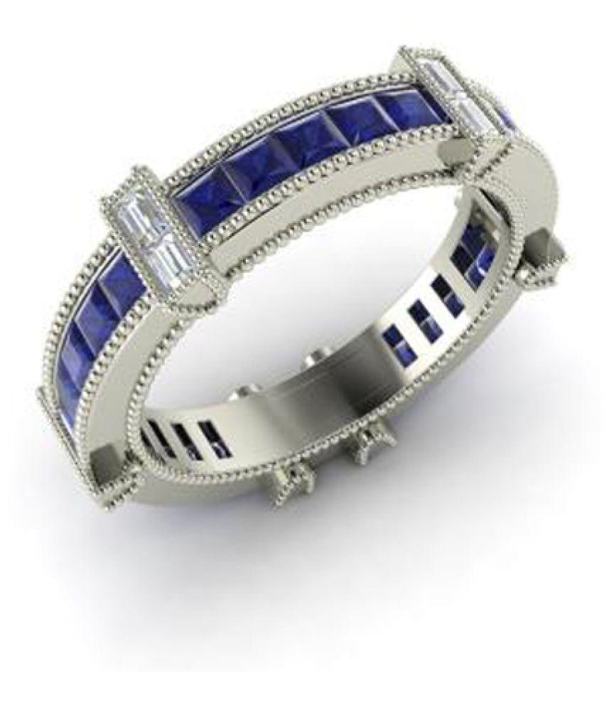 Caitali 92.5 Silver Band Ring
