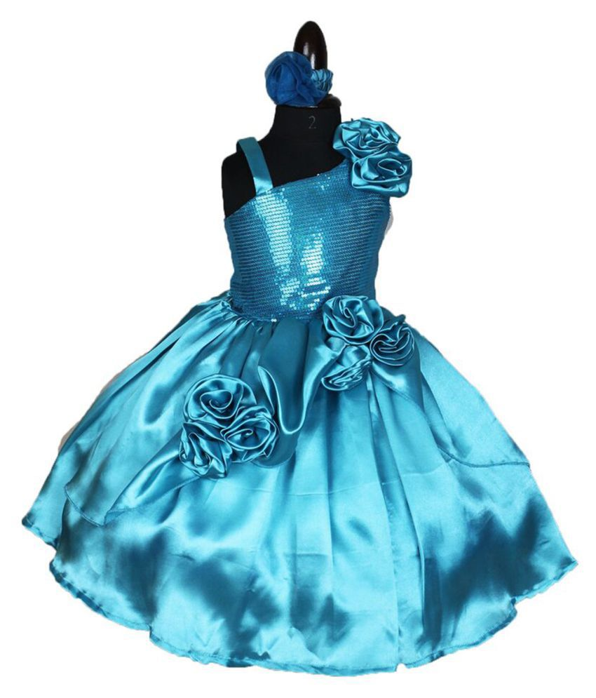 f7000ce23034 Forever Kidz Designer The turquoise Charm Party Frock For Baby Girls - Buy  Forever Kidz Designer The turquoise Charm Party Frock For Baby Girls Online  at ...