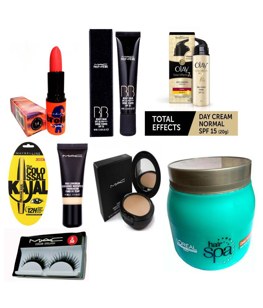 Mac Olay Maybelline L Oreal Makeup Combo Contour Kit At Best S In India Snapdeal