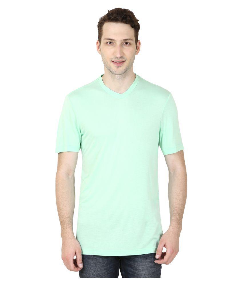Trendberry Green V-Neck T-Shirt