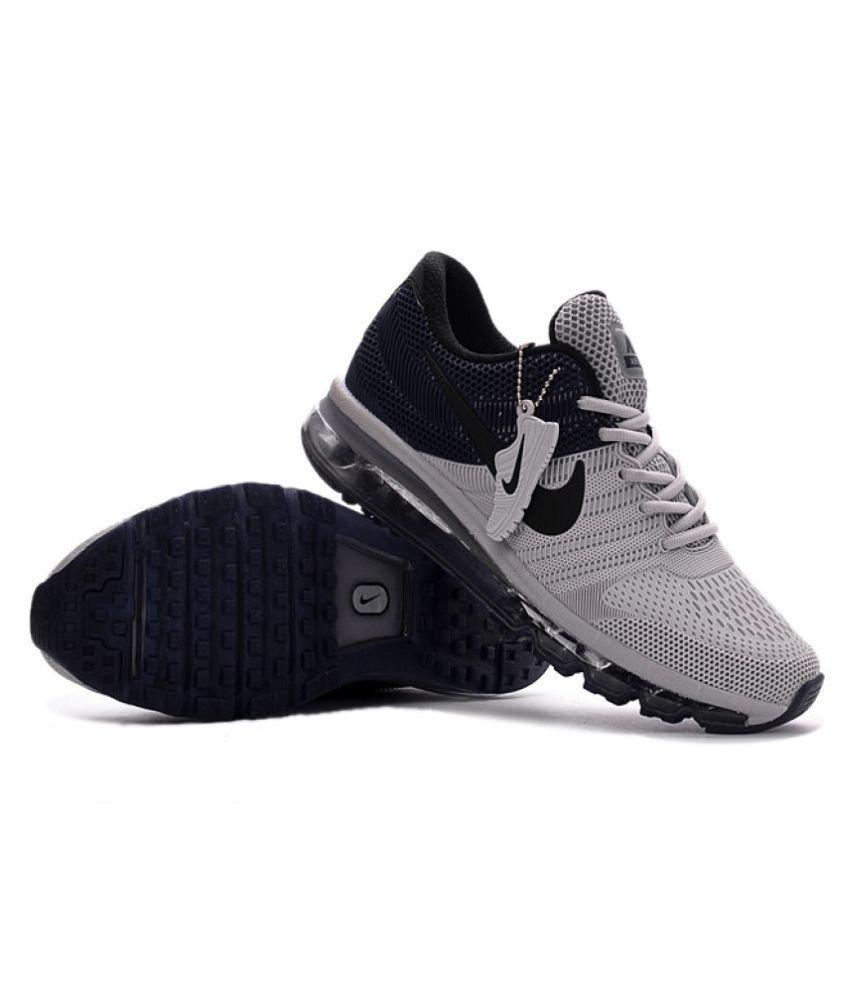 ... Nike 2018 Air Max Gray Training Shoes ...
