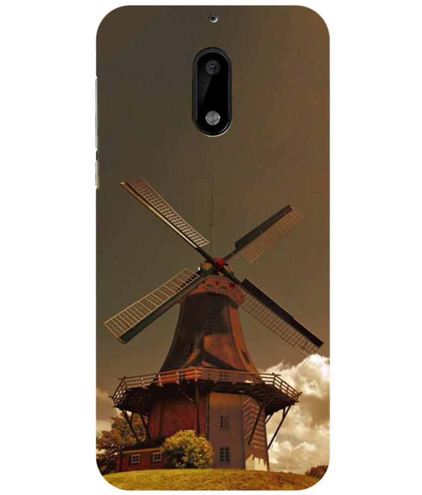Nokia 6 Printed Cover By Blue Throat