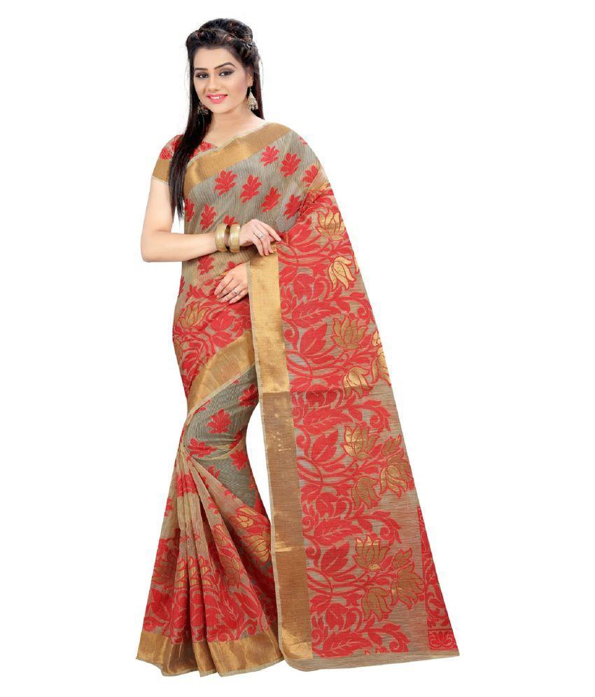 Jayant Creation Multicoloured Tussar Silk Saree