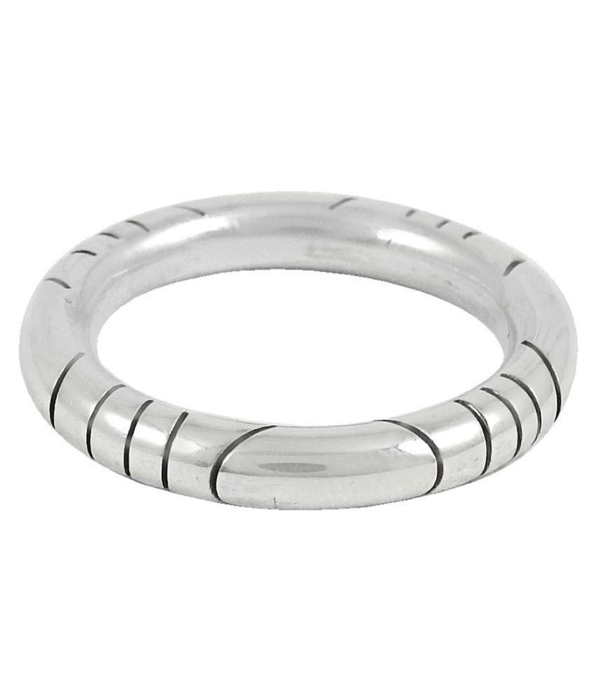 Miska Silver 92.5 Silver Band Ring