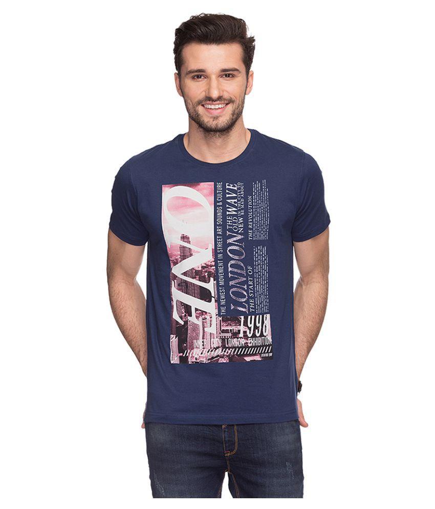 Status Quo Blue Round T-Shirt