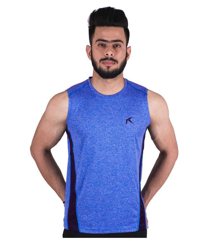Repugn Blue Polyester Jersey