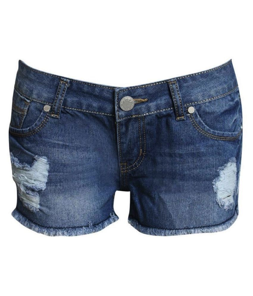 3b7c10d962 Buy Pilot London cotton Hot Pants Online at Best Prices in India ...