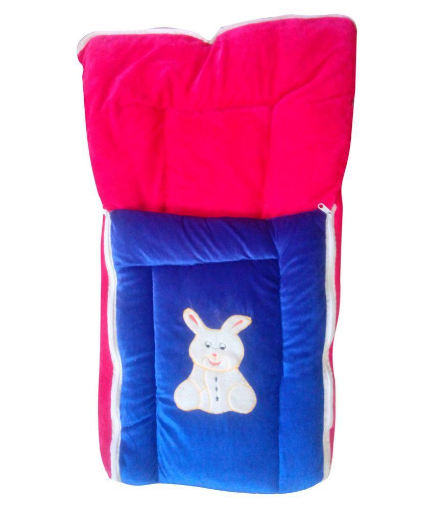 Welo Multi-Colour Cotton Sleeping Bags ( 34 cm × 19 cm)
