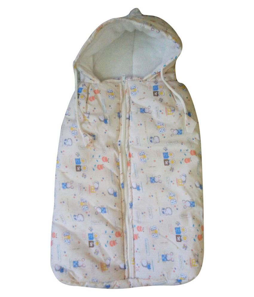 Welo Multi-Colour Cotton Sleeping Bags ( 25 cm × 20 cm)