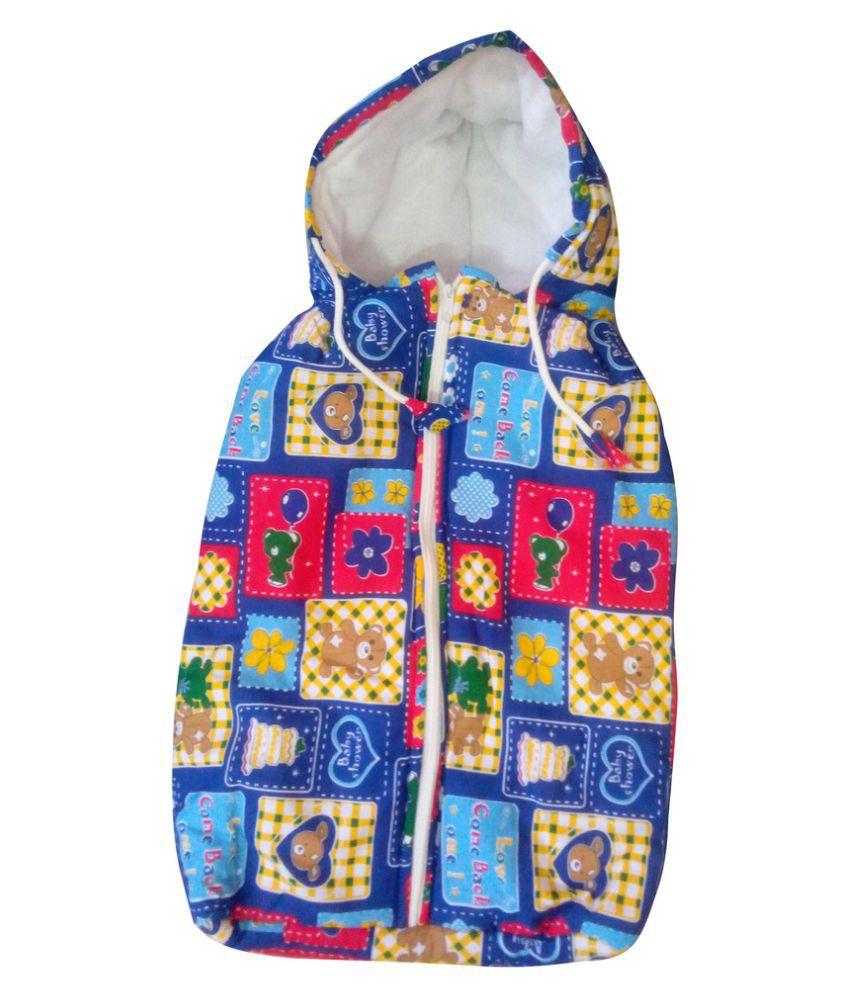 Welo Multi-Colour Cotton Sleeping Bags ( 25 cm × 18 cm)
