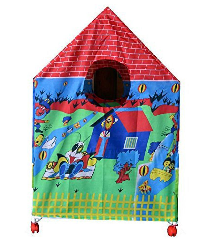 ... latest Kids Play Tent House with Revolving Wheels ...  sc 1 st  Snapdeal & latest Kids Play Tent House with Revolving Wheels - Buy latest ...