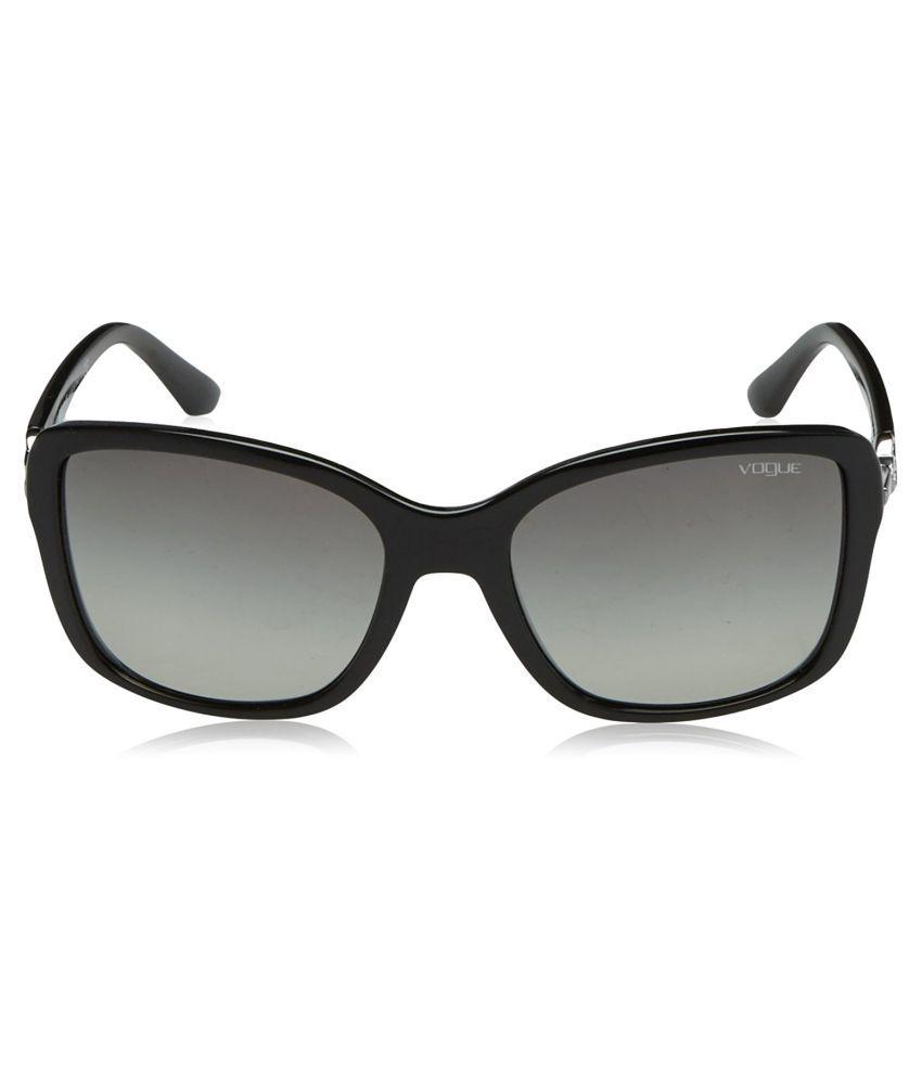 477cfa0a99800 Vogue Black Square Sunglasses ( VO5061 SB W44 87 ) - Buy Vogue Black ...