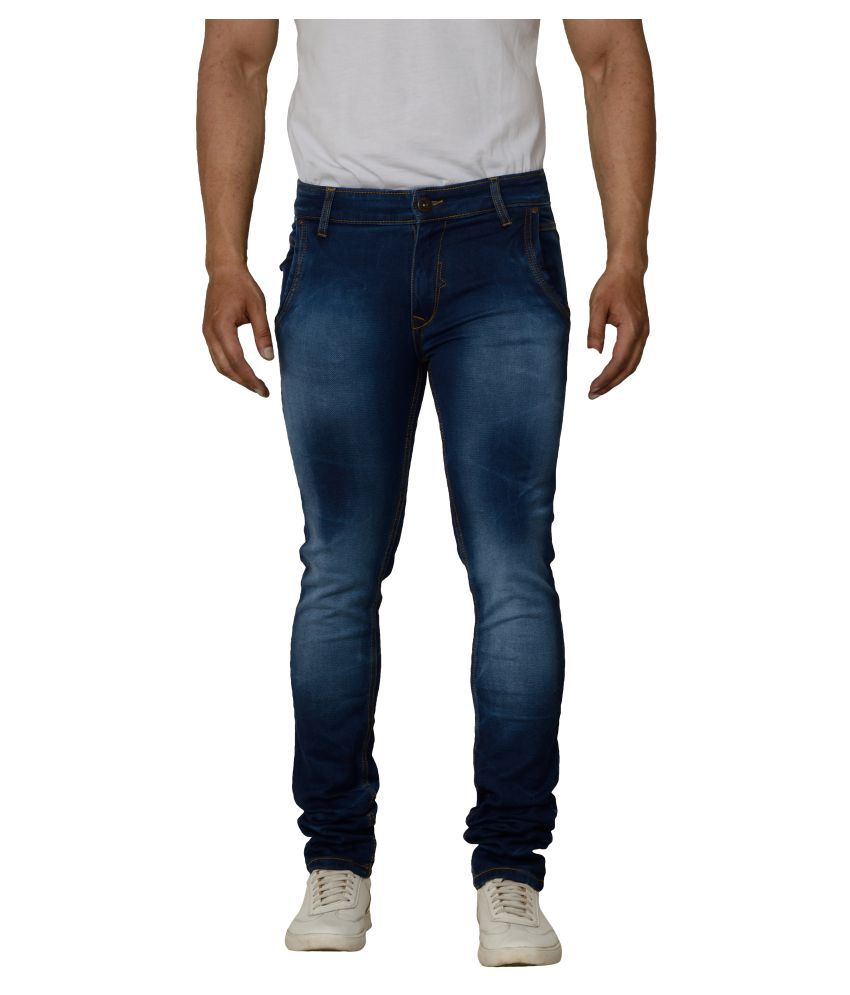 Bearberry Blue Skinny Jeans