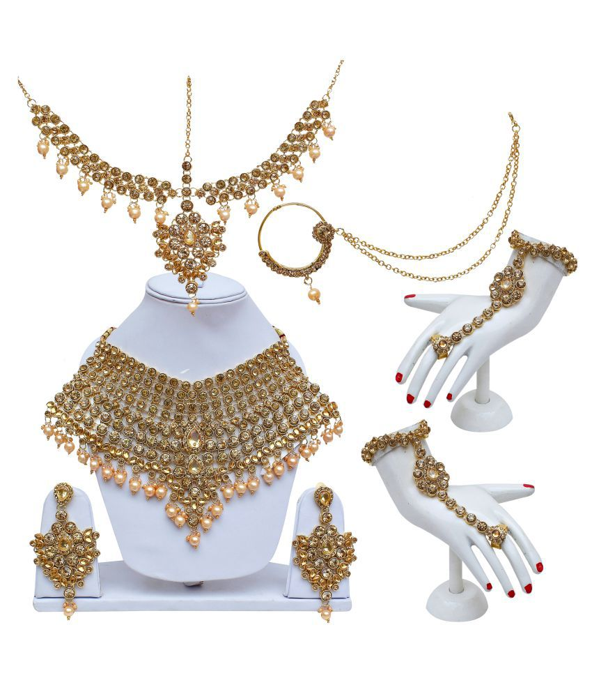 Lucky Jewellery, LCT Golden Bridal Dulhan Wedding & Engagement ...