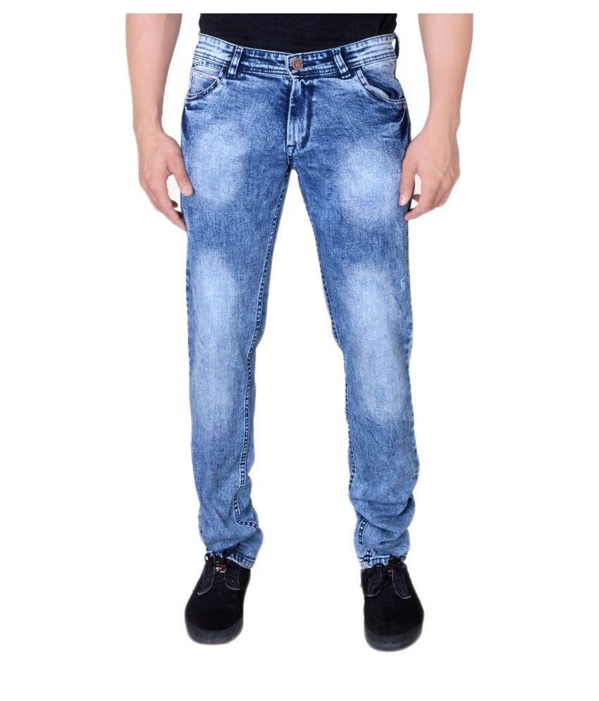 Villain Blue Slim Jeans