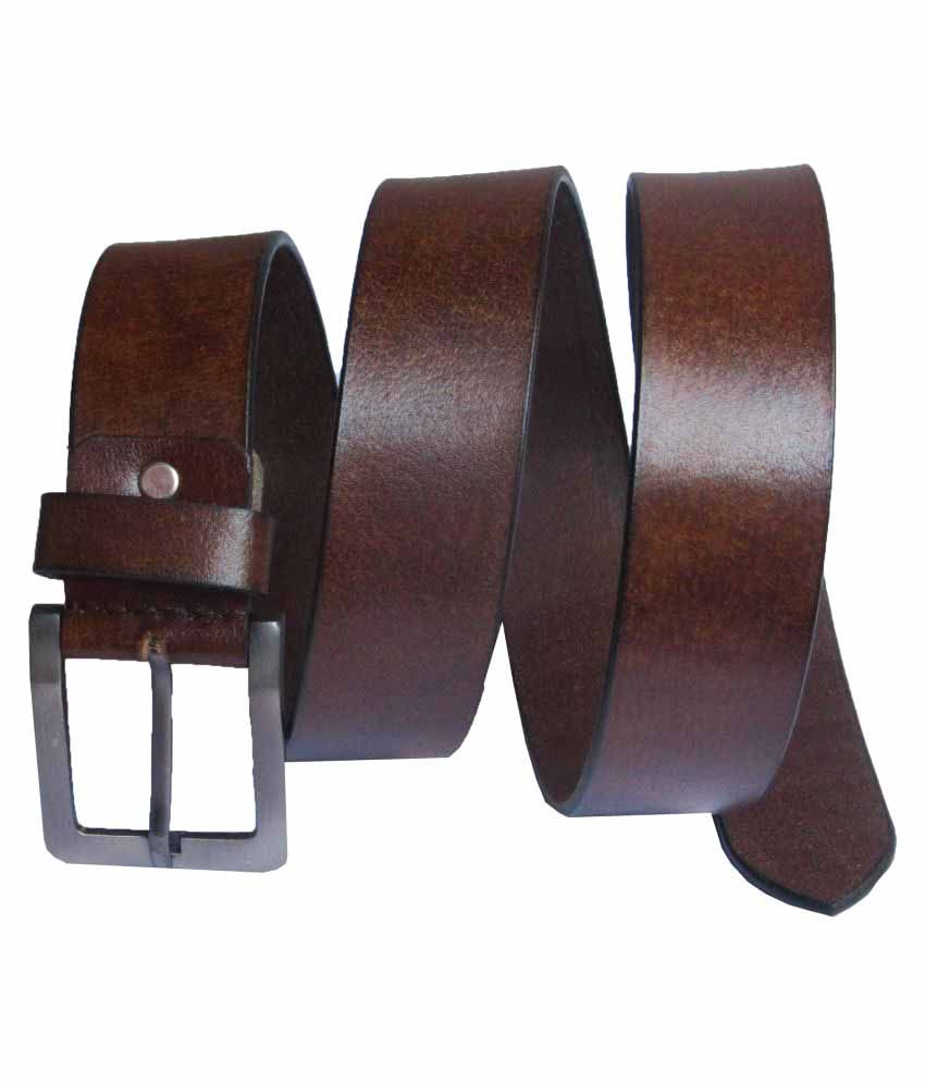 eXcorio Brown Leather Casual Belts