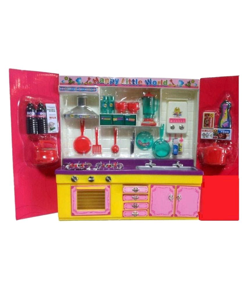 Dwiza Multicolour Plastic Kitchen Set Buy Dwiza Multicolour Plastic Kitchen Set Online At Low