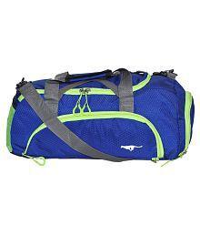 Gene Blue Large Nylon Gym Bag - 686209971937