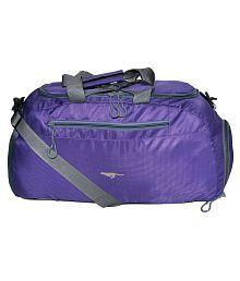 Gene Blue Large Nylon Gym Bag - 645028772167